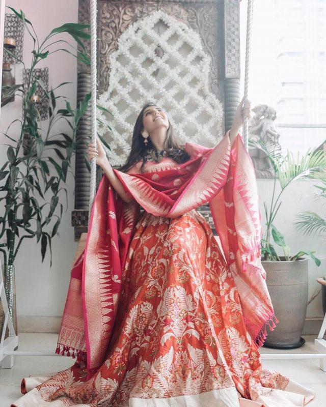 Outfit By:  Ekaya Banaras , Banaras