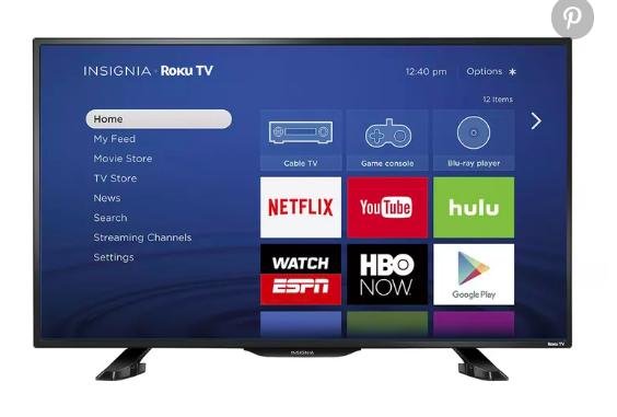 """Insignia  39"""" LED Smart Roku TV, $230,  BestBuy.com"""