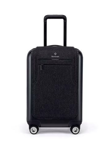 Bluesmart  carry-on suitcase, $599,  SaksFifthAvenue.com