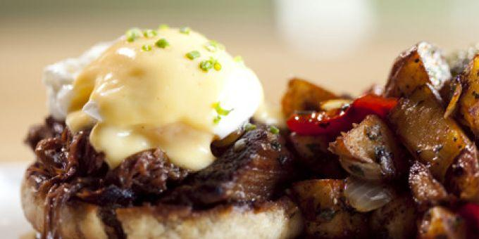 Braised Short Rib Benedict at Serpas (photo from Zagat)