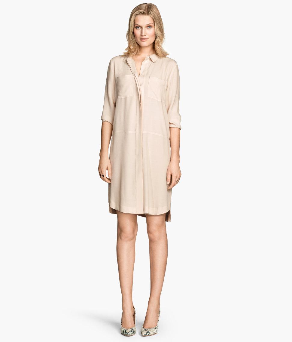 crepe shirt dress hm.jpg