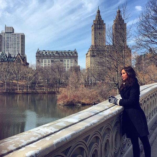 Kaitlyn does NYC (photo from Abc)