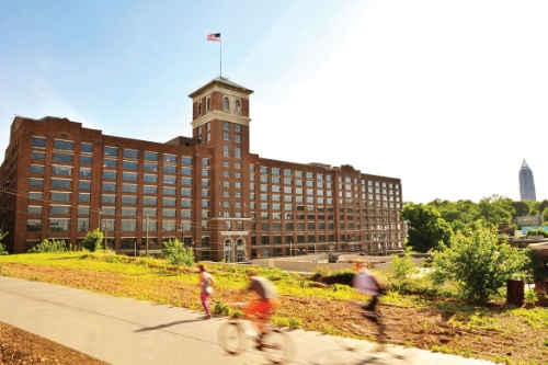Ponce City Market from the BeltLine (photo from poncecitymarket.com)