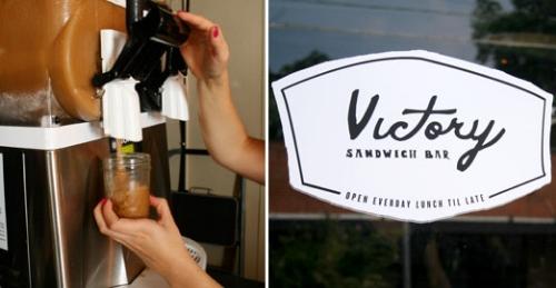 Victory Jack & Coke slushie (photo from sweetpeachblog.com)
