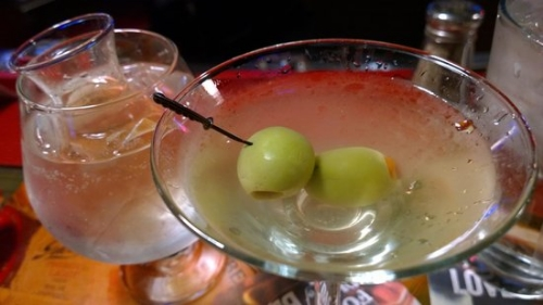 Dirty Vodka Martini at Highland Tap (photo from tripadvisor.com)