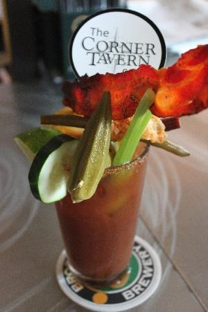 Corner Tavern Bloody Mary (photo from tripadvisor.com)
