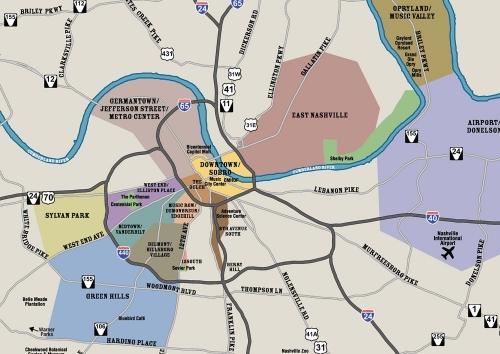 Map from visitmusiccity.com