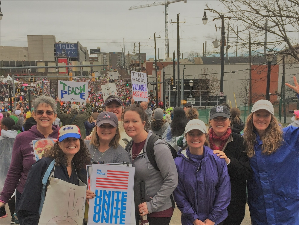 Women's March, Atlanta, GA, January 21, 2017
