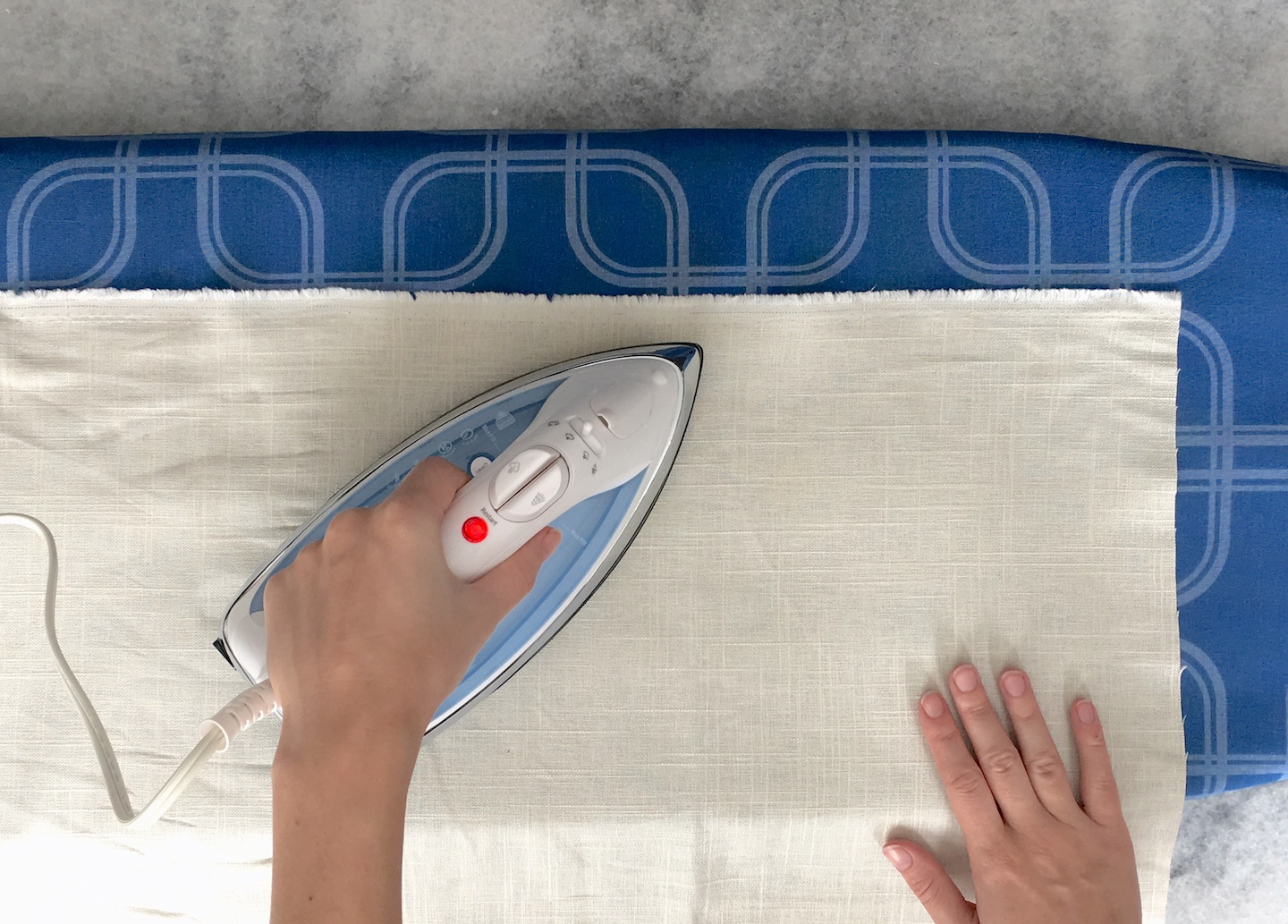 how to iron linen