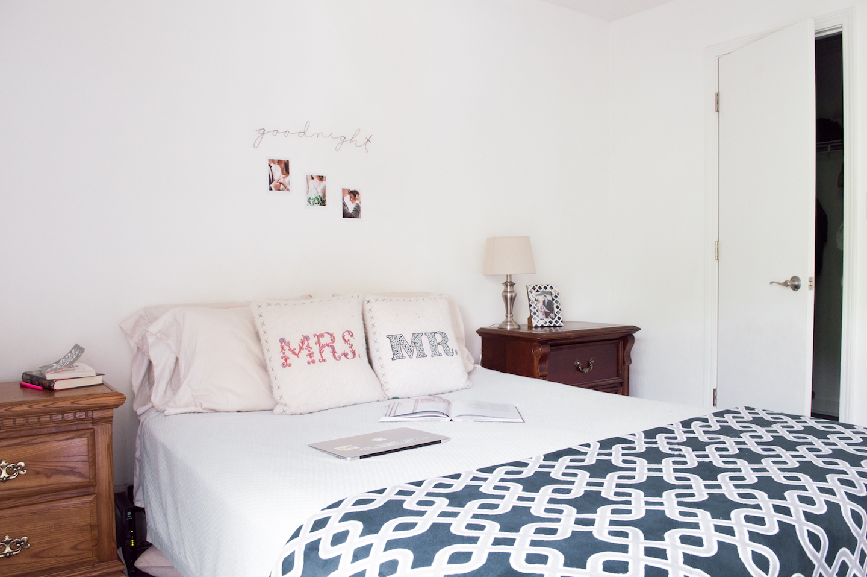 Marietta Georgia Apartment Bedroom with Walk In Closet
