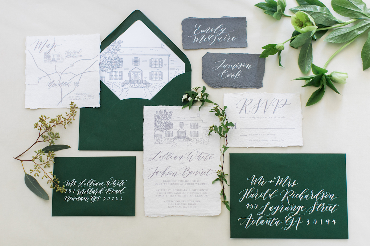 IMPORTANT TO NOTE: If you wait too long to book with a custom wedding invitation designer, you might risk paying some rush fees & you definitely don't want that to happen. Plan ahead!  Phoyo by Alexis June Weddings.