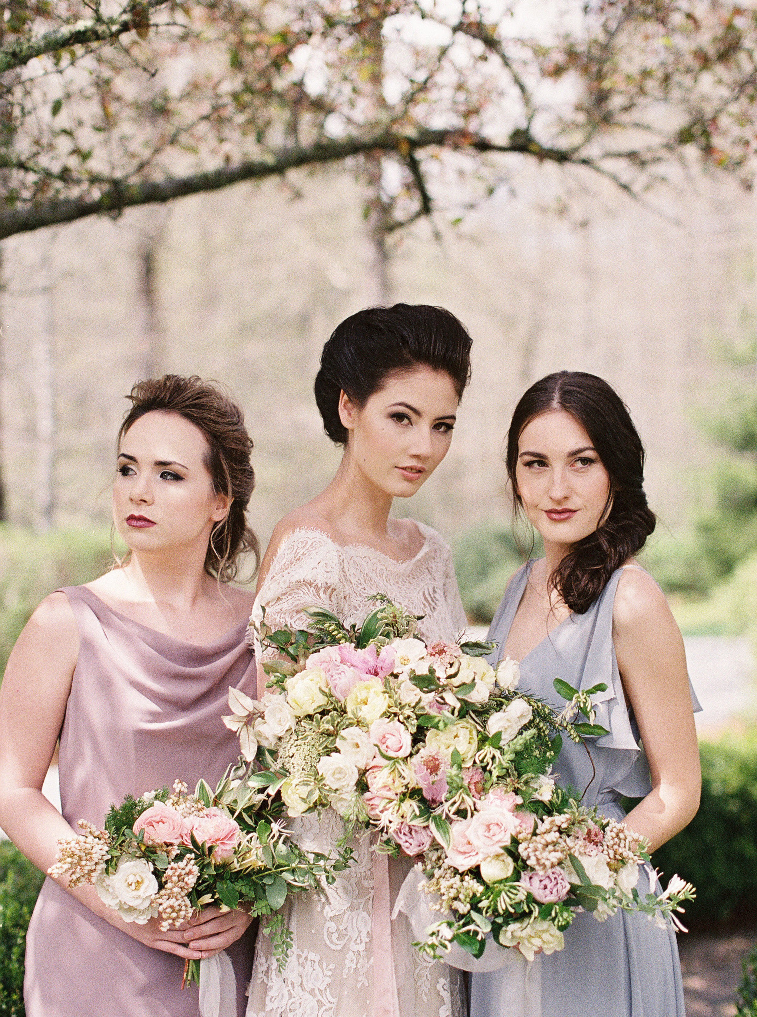 Overall, your bridesmaids need to be people that you are going to love having next to you on your wedding day; and they should love standing beside you as well!   Photo by Noi Tran   .