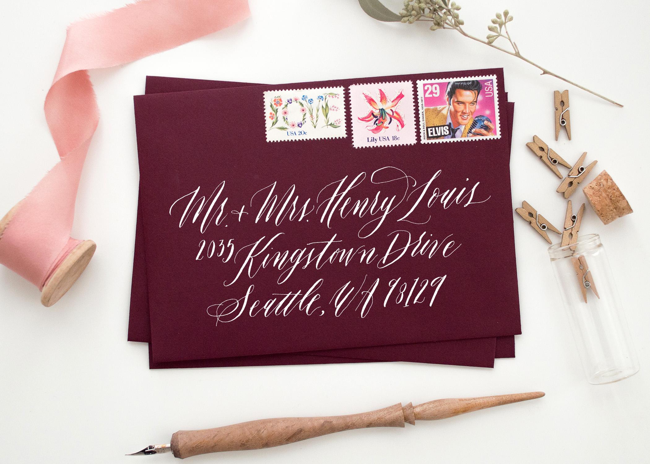 marietta calligraphy, wedding calligrapher, marietta calligrapher, georgia calligrapher, atlanta calligrapher