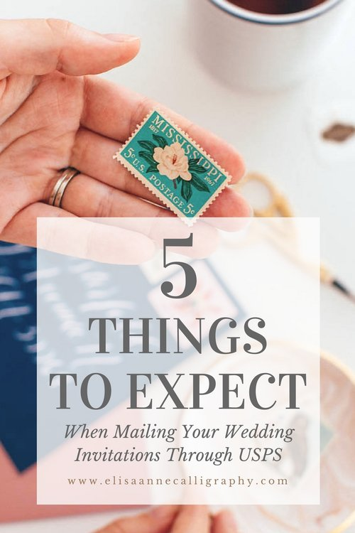 What To Expect When Mailing Your Wedding Invitations Through Usps