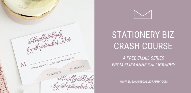 stationery biz crash course, learn about stationery, how to be a stationer, how to run a creative business