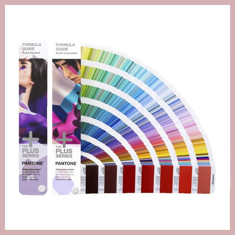 PANTONE FORMULA GUIDE - If your calligrapher / stationer friend is interested in letterpress printing eventually, he/she will need to have one of these! This is the perfect gift for any creative friend or family member.
