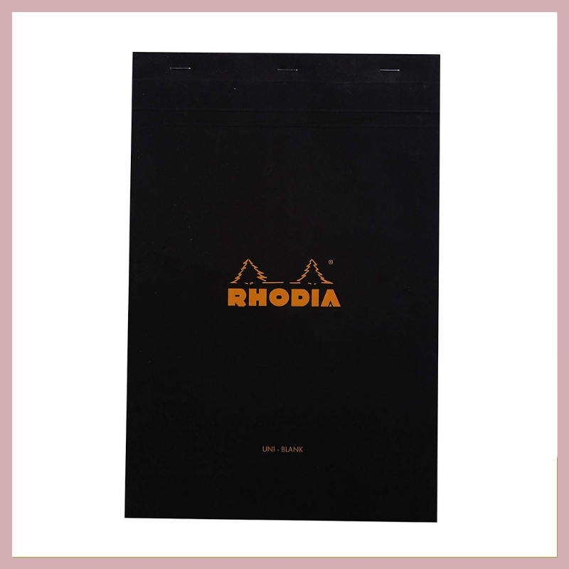 RHODIA PAD - This pad has butter smooth paper that makes it great for spot-calligraphy as well as practicing calligraphy on a daily basis. Why not grab a couple for your creative friend? They'll get used up pretty quickly!