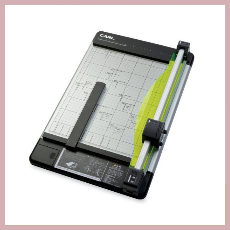CARL HEAVY DUTY PAPER TRIMMER - This is an item in my studio that gets used all the time! It's always in reach, as it seems I always need to trim some sort of paper or another. This would be a wonderful addition to any paper studio.