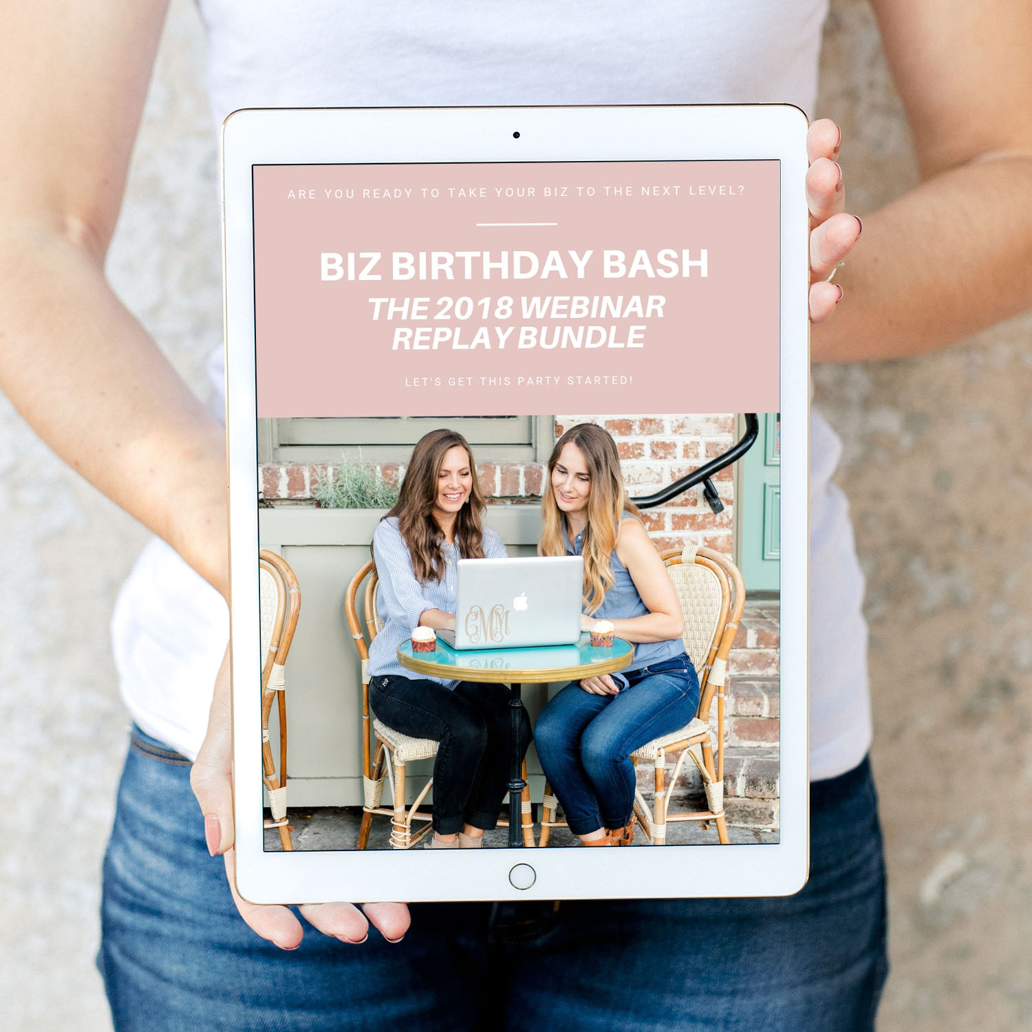 2018 BIZ BIRTHDAY BASH REPLAY BUNDLE - Is your friend or family member interested in learning how to start their own creative business and scale it to go full-time and make a profit! This is the PERFECT gift for them. The bundle includes three videos, and multiple PDF downloads that will help them get started on their creative biz journey. OR if they already have a creative business it will help them strengthen their biz!