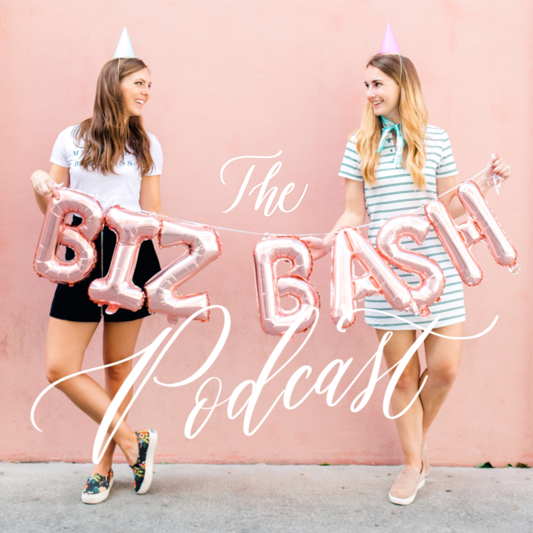 THE BIZ BASH PODCAST - Hosts Cami & Elisabeth bring you fresh and funny conversations about running a small creative business and dish out the real deal on what it's like to be your own boss, design invitations for high-end clients, network in the wedding industry and more!