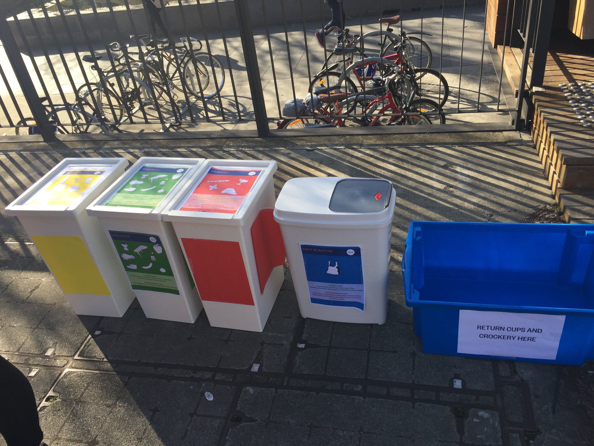 Fair Food Challenge is developing a bin system so communities can separate food waste and soft plastics and save them from landfill