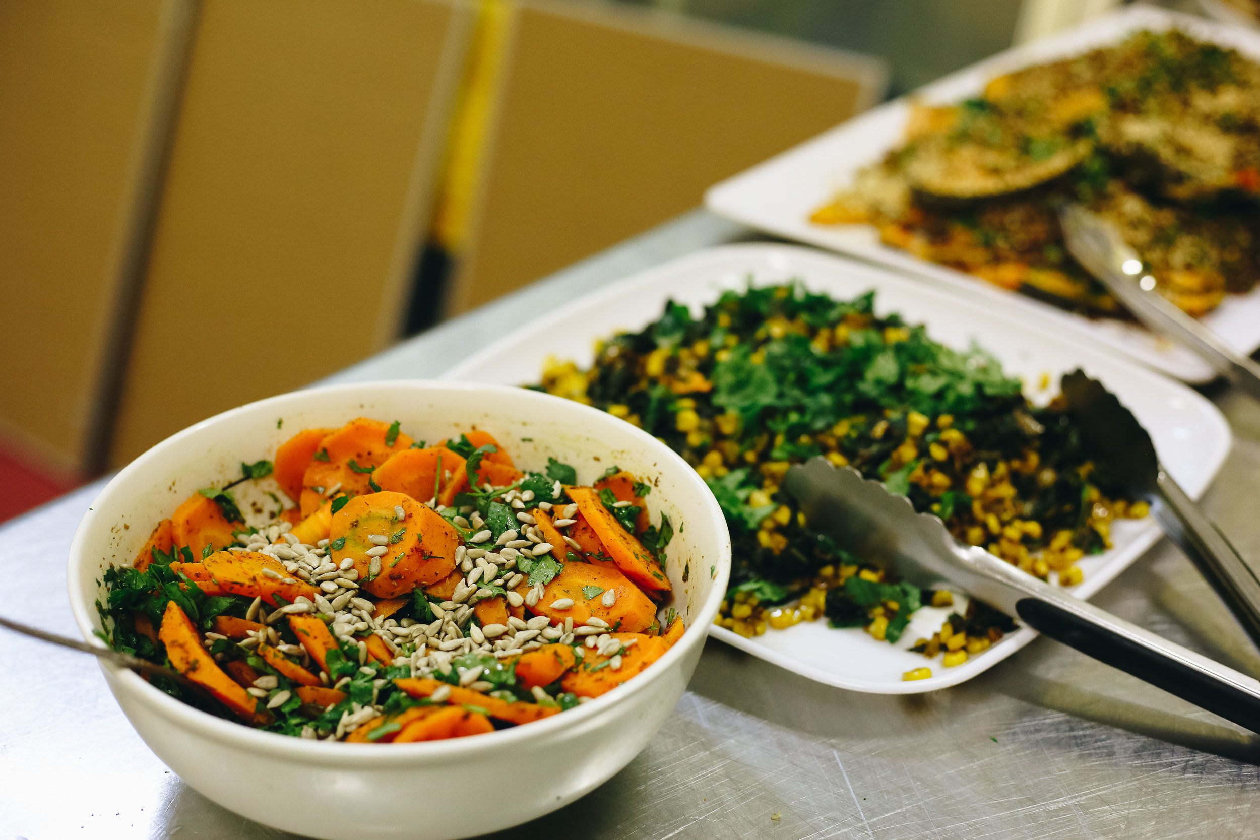Fair Food Challenge provides a delicious seasonal, locally sourced lunch catering to different dietary needs including vegan and Halal diets