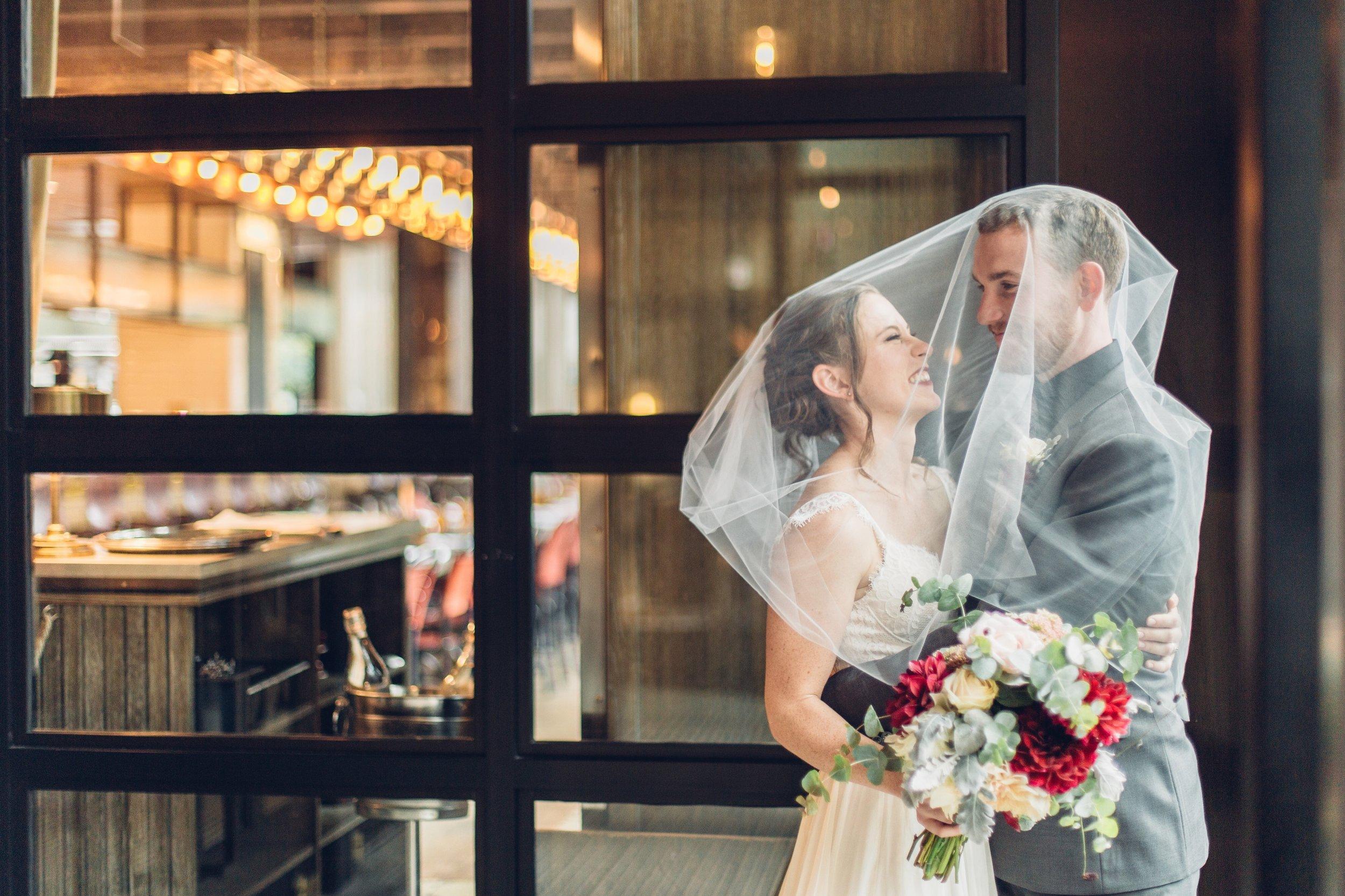 Chicago Elopement Veil Wedding Style Wedding Planning Photography