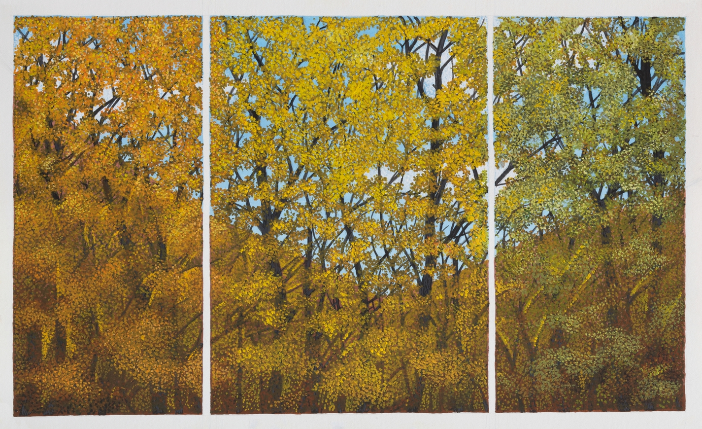Study for Fall Triptych
