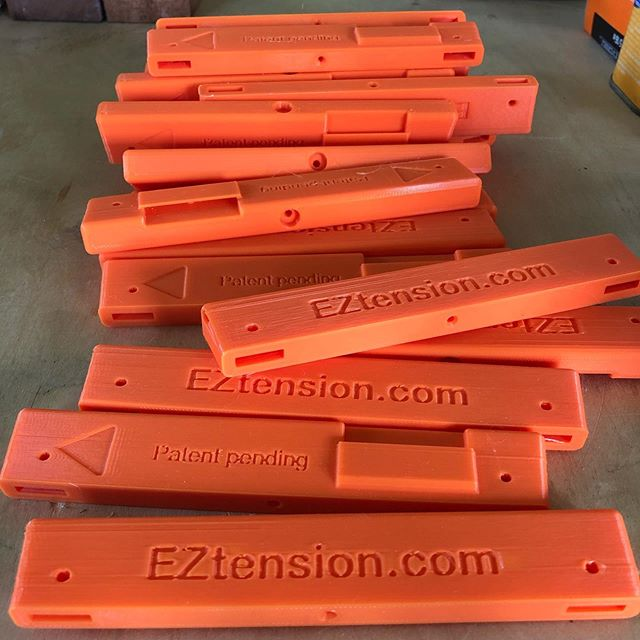 Another batch of bandsaw tension gauges ready to be assembled! . . . #bandsaw #toolmaker #eztension #madeinmaine #woodworkingtools #prusai3mk3
