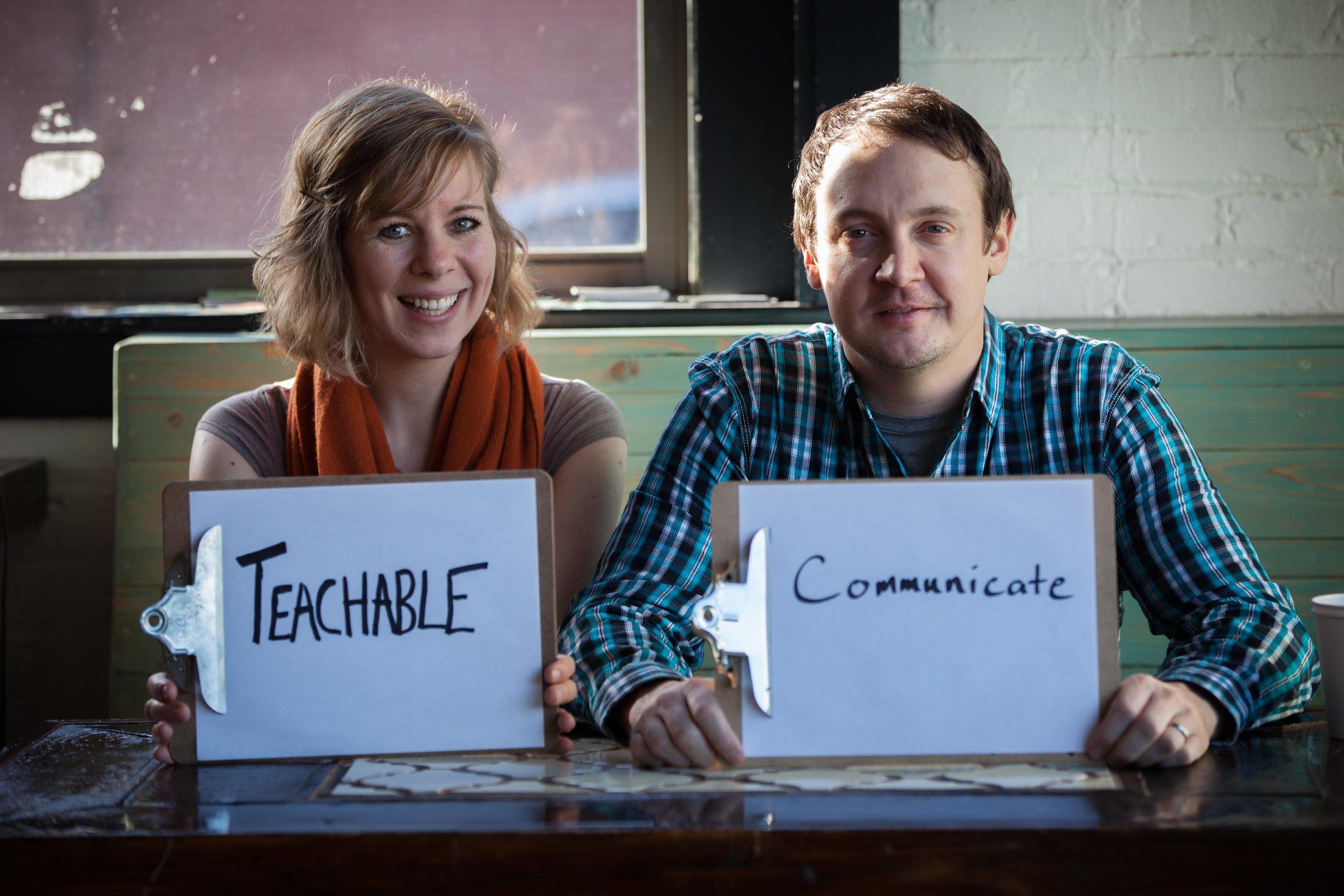 Teachable & Communicate