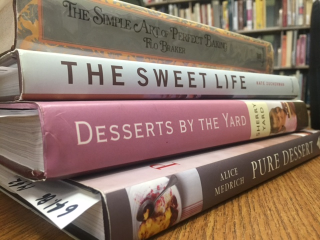 A few of Chef Kenneth Smith's Delicious Dessert Cookbooks