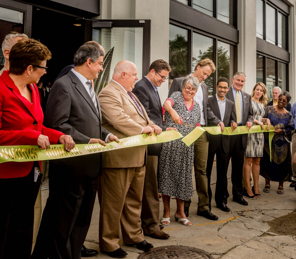 Cutting the Ribbon in 2014!
