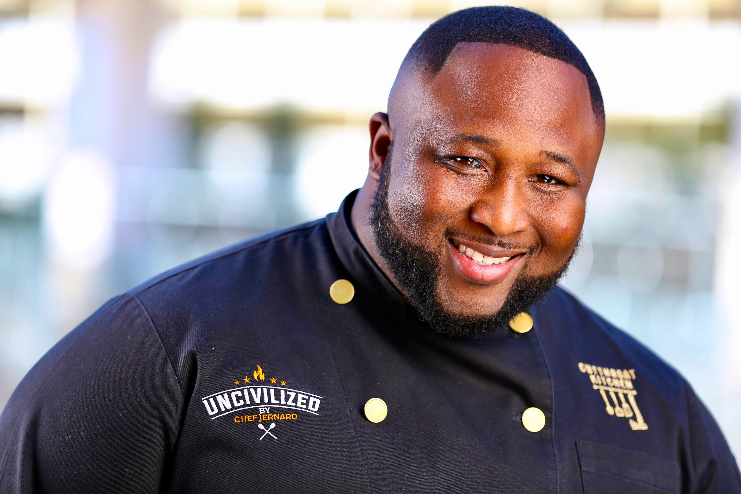 Chef Jernard Wells_Black Chef Jacket.jpg