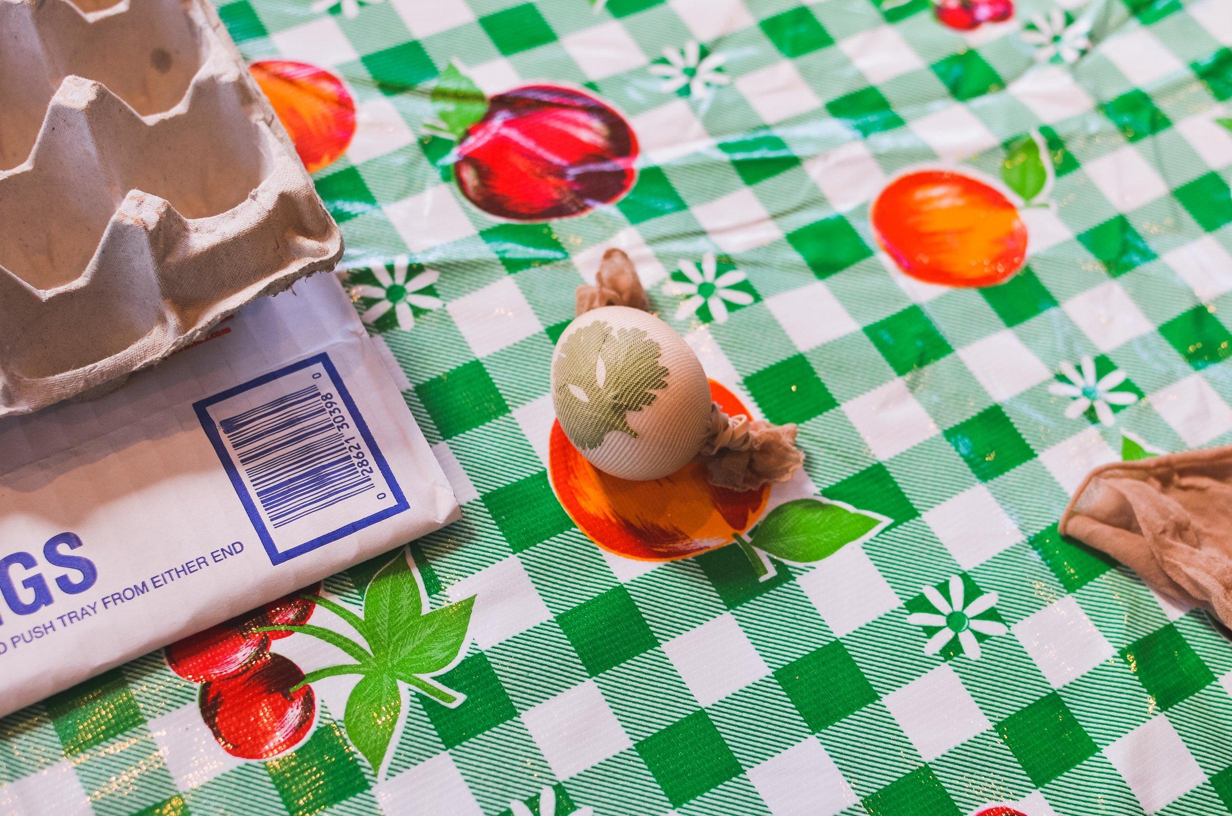 Egg Ready for Dye