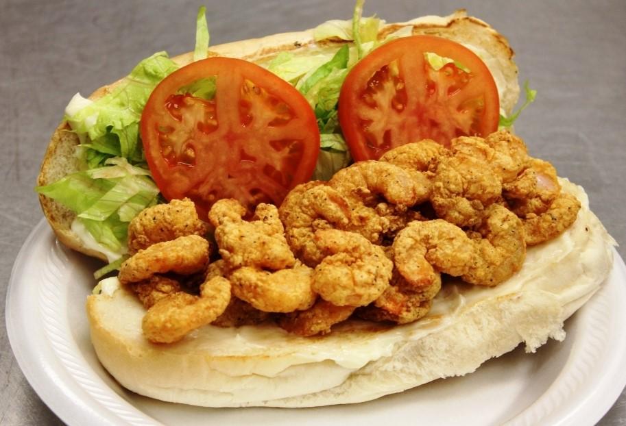 Proper Shrimp Po-Boy, image courtesy Julian Brunt
