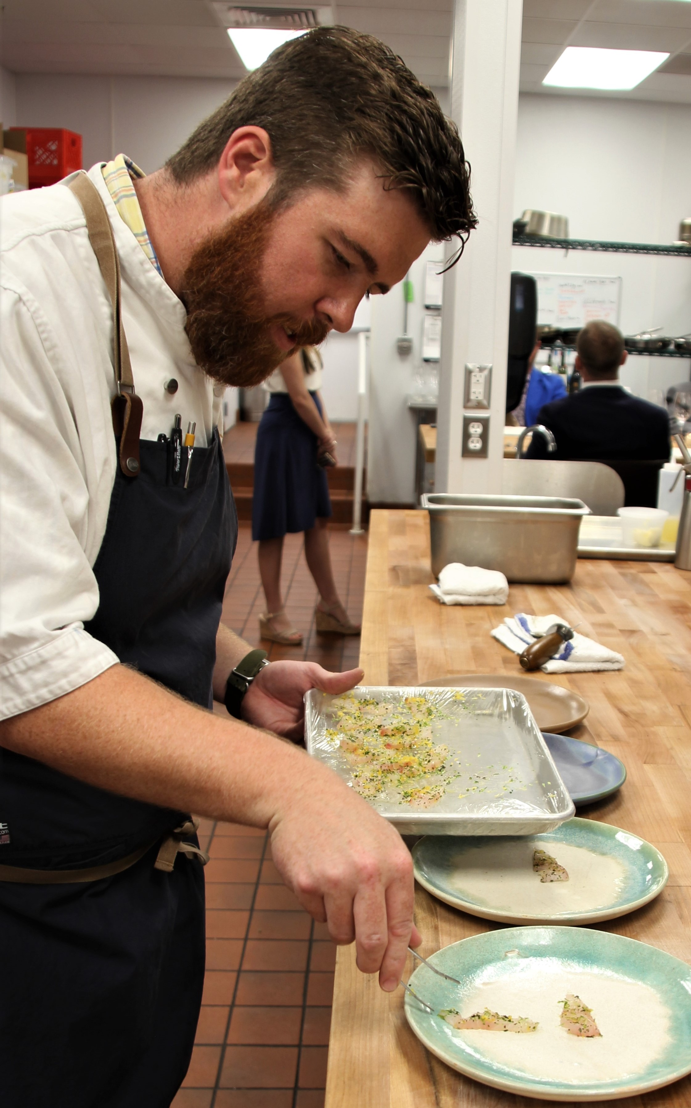 Chef Austin Sumrall, image courtesy Julian Brunt