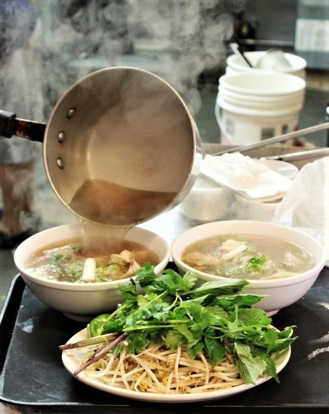 Pho from Henry's, image courtesy of Julian Blunt.