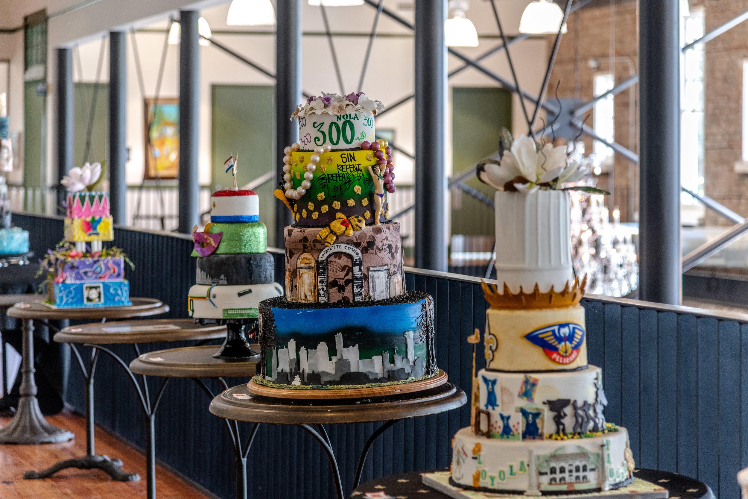Cakes on Display at Dryades.jpg