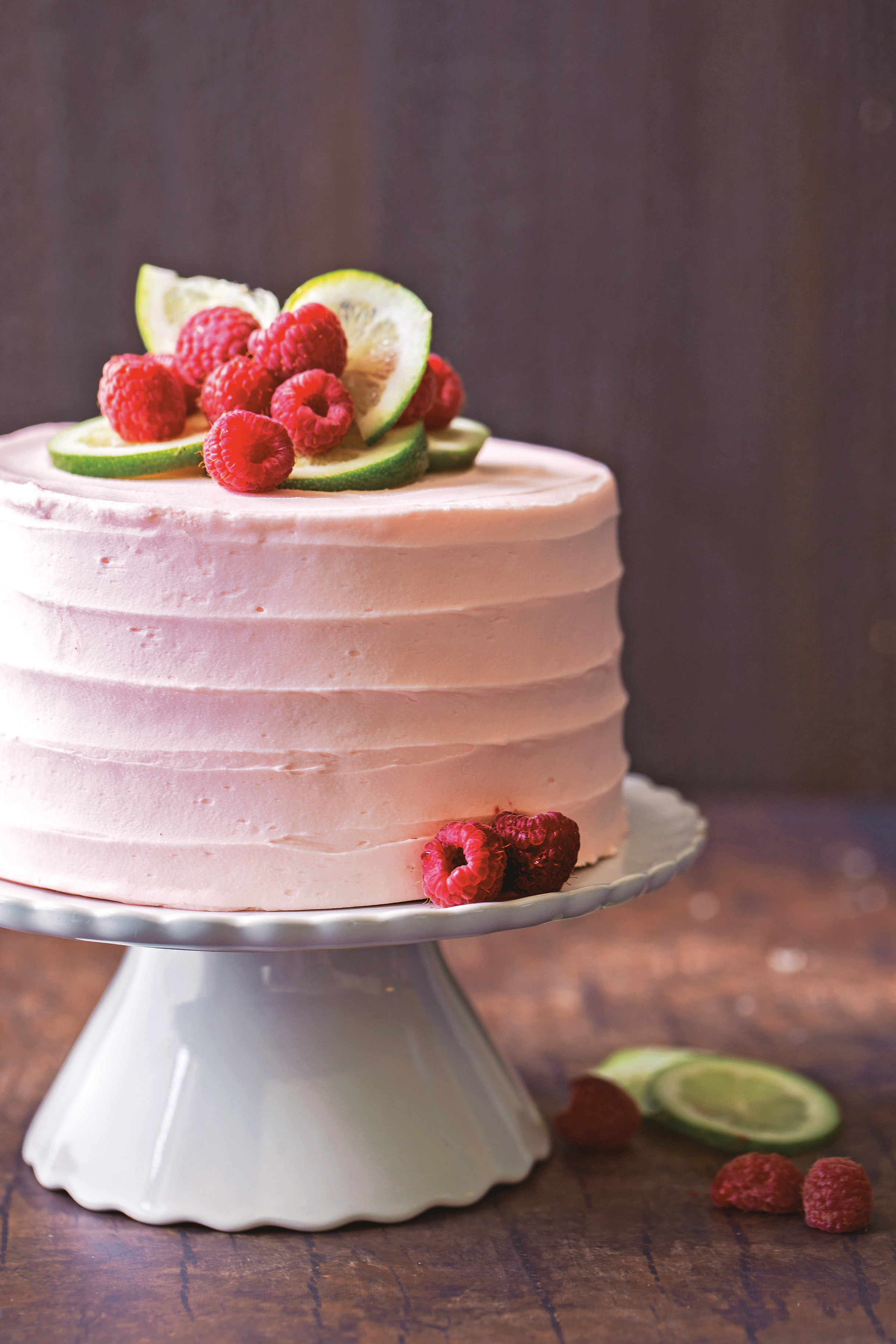 Decadent Fruit Desserts Raspberry Lime Cake.jpg