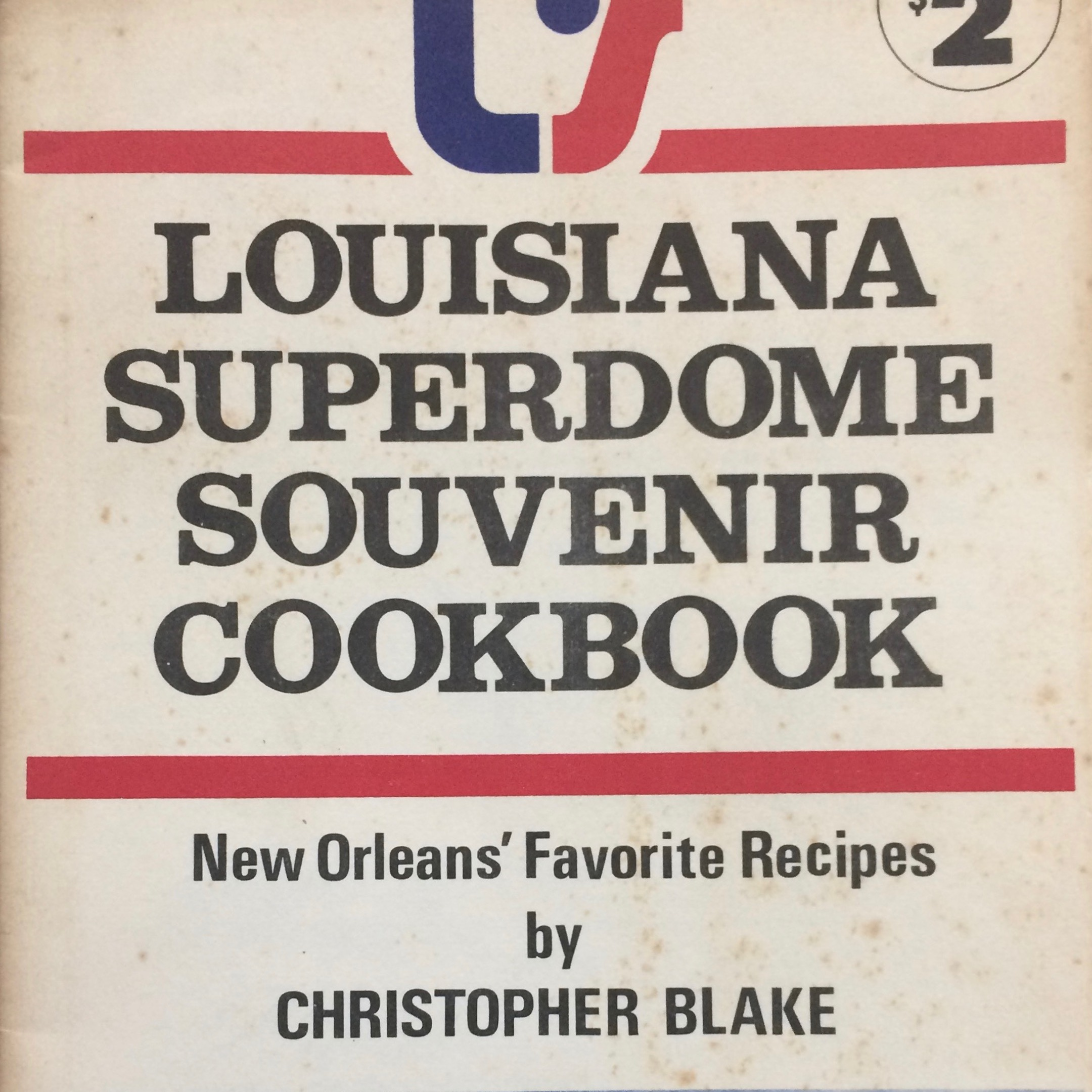 "Christopher Blake Collection - This collection contains pamphlets (Christopher Blake's Cooking for and with Alcoholics; Red Beans and Ricely Yours), recipes (""No Week's Complete Without a New Orleans Meal,""), fliers, correspondence, and several cookbooks by Blake: Louisiana Superdome Souvenir (pictured left, 1975); Christopher Blake's Easy Elegance Cookbook (1978); and the Fair, Fair Ladies of Chartres Street (1965).See an item-level PDF finding aid."