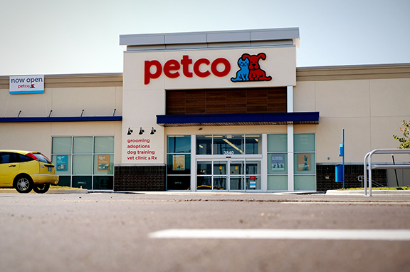 Petco's new location at 3840 W. Washita St. is the first business to move into the Springfield Plaza development on East Sunshine Street.