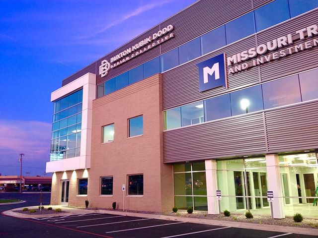 Only a few more weeks until our new office opens. Capturing the colors and reflection of tonight's beautiful sunset.