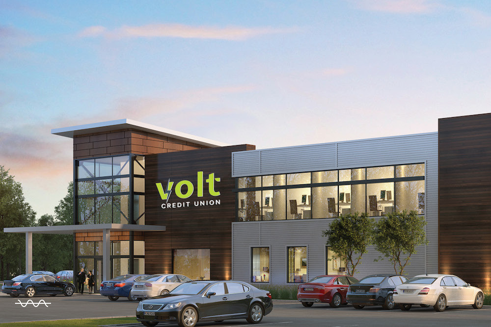 The new name, Volt Credit Union, will be incorporated into the company's branch that's under construction in southwest Springfield.