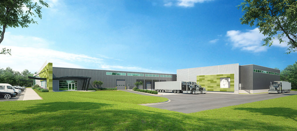 Salon Service Group warehouse expansion  1520 E. Evergreen St.