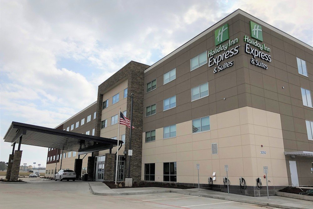 Holiday Inn Express & Suites spans nearly 63,000 square feet. PHOTO PROVIDED BY KEVIN ALGEO