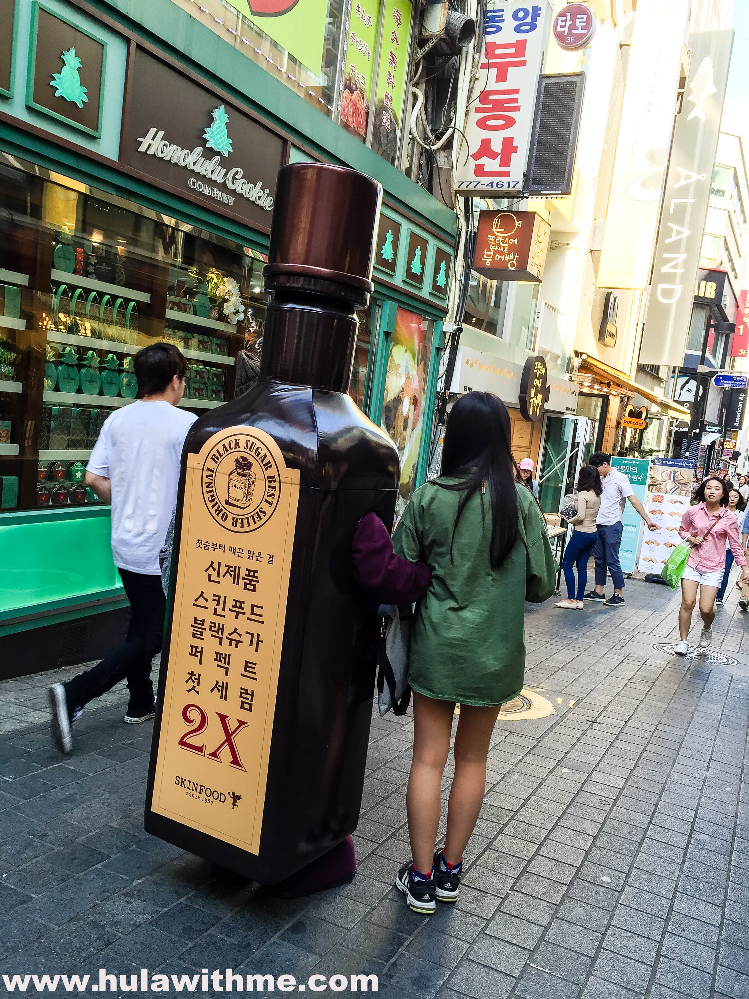 Myeongdong, Seoul, Korea