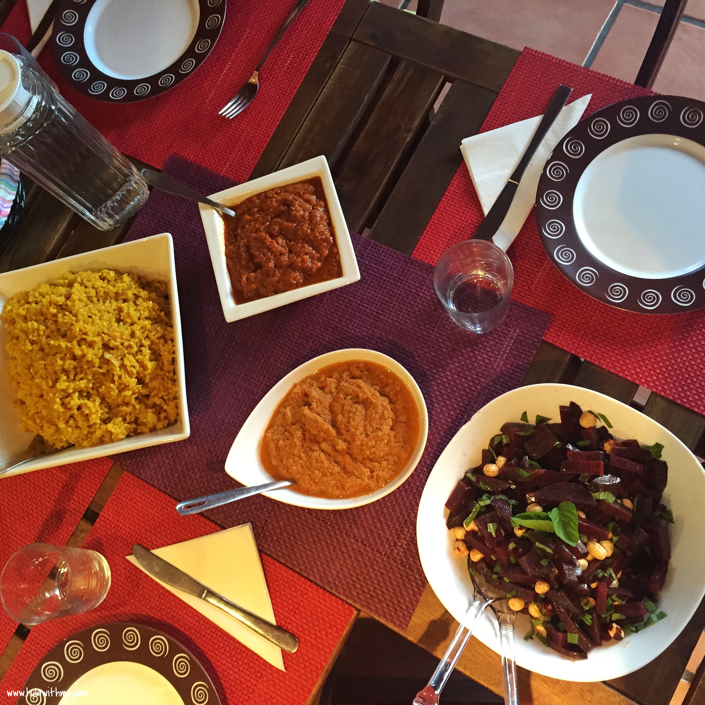 Vegan meals at yoga retreat on Fuerteventura, Canary Islands. Managed by AzulFit.