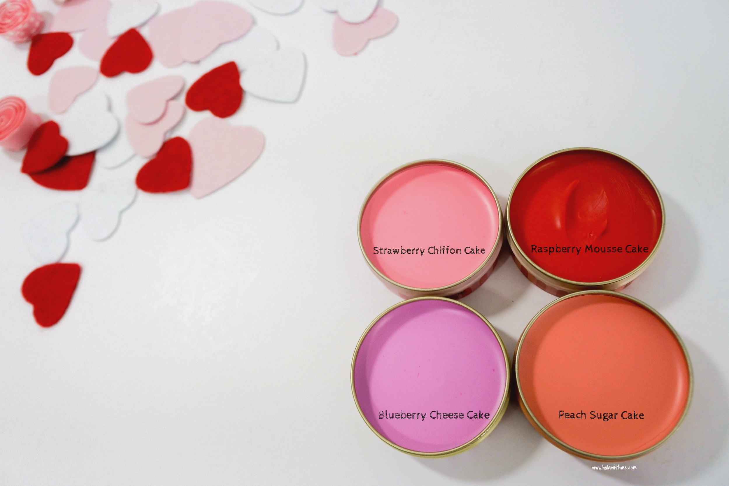 Color Swatches: Etude House Sweet Recipe Cupcake All Over Color