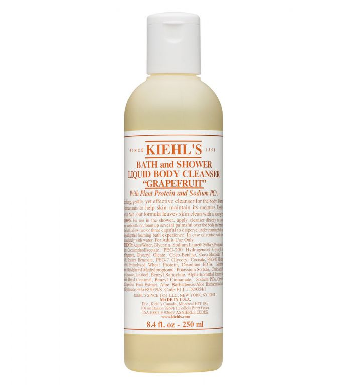 Valentine's Day gifts for him & her: Kiehl's Bath & Shower Liquid Body Cleanser in Grapefruit.
