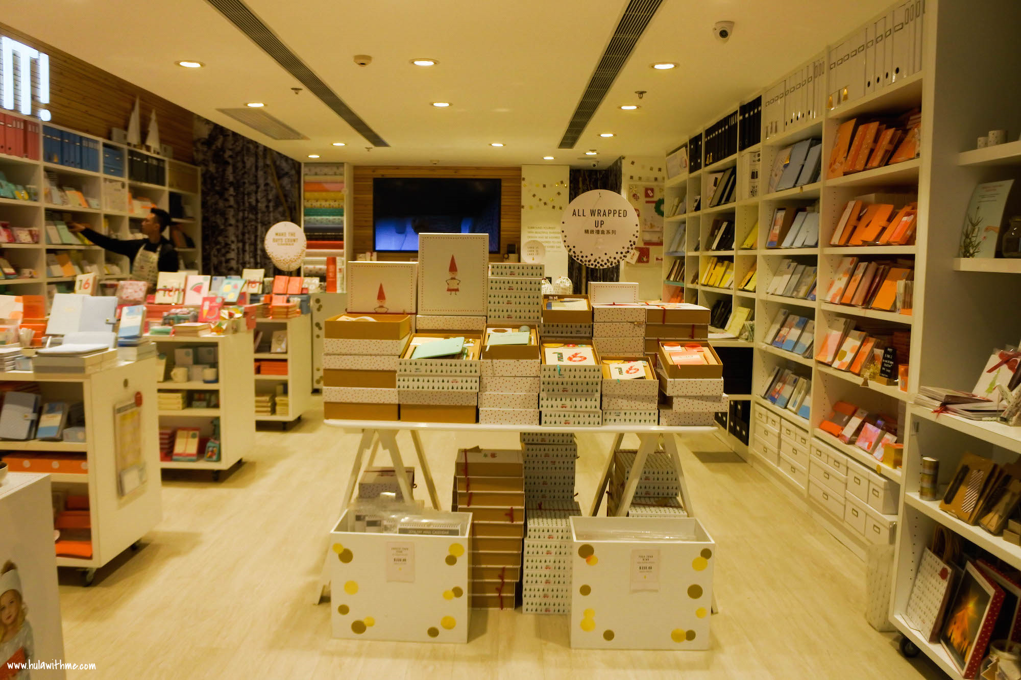 Kikki.K Stationery: Hong Kong store in the Times Square Mall in Causeway Bay.